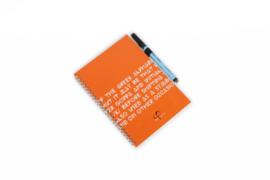 PHI Notes ring bind - Orange