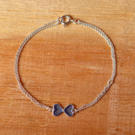 Zilveren Infinity armband