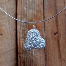 Zilveren hart