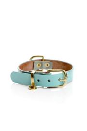 BLUE LAGOON | LEATHER DOG COLLAR