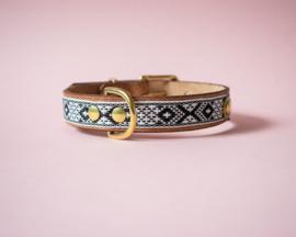 Dog collar Aztec Black&White | all sizes