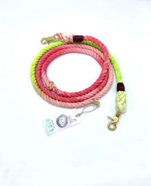 DOG LEASH WATERMELON 🍉 SIZE M COTTON