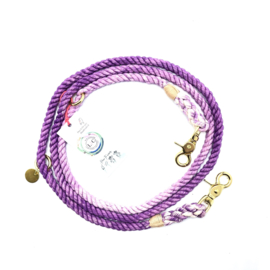 SIZE M | COTTON PURPLE DOG LEASH | 2M