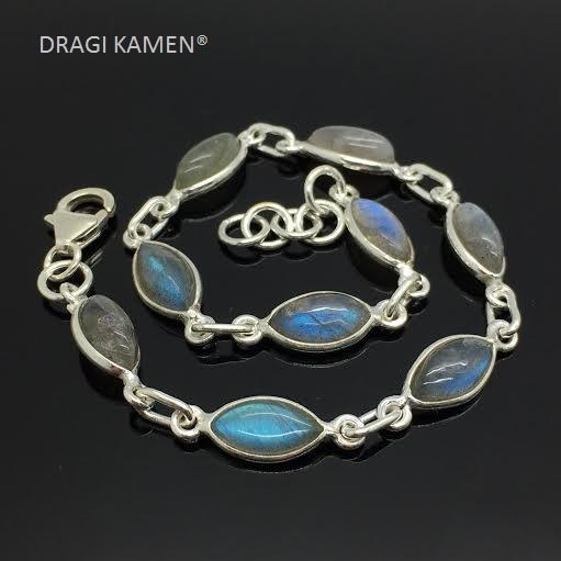 925 zilveren armbanden met edelstenen