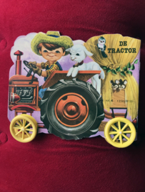 Vintage boekjes op wieltjes No.6 De Tractor