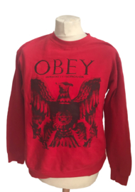 Obey Rode Trui