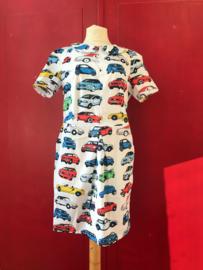 40's mini dress Drive my Car