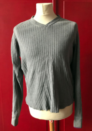 Abercrombie & Fitch Knitted Sweater Antractiet Grey
