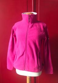 Pink Outdoor Cardigan Fleece