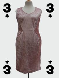 Pink Velvet Dress