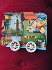 Vintage boekjes op wieltjes No.2 De trein