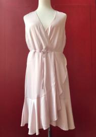 40s Tiabella Cross Over Swing Dress  Powder Pink