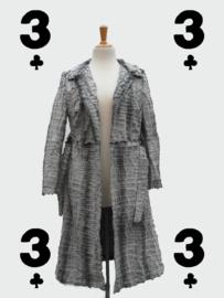 50s Rock Grey Coat