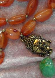 Buddha Necklace Namaste