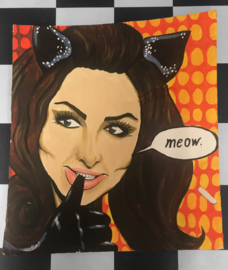 Painting 'Meow'