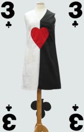 60s Queen of hearts Dress