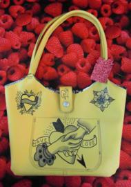 Handmade SpoonkyTattoo Bag Have Love