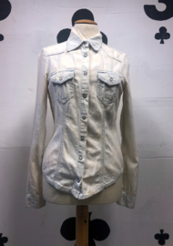 Whitewash Jeans Blouse