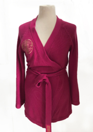 Pink Kimono Cardigan