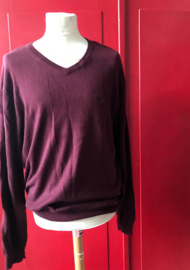 Chaps Knitted Sweater Bordeaux