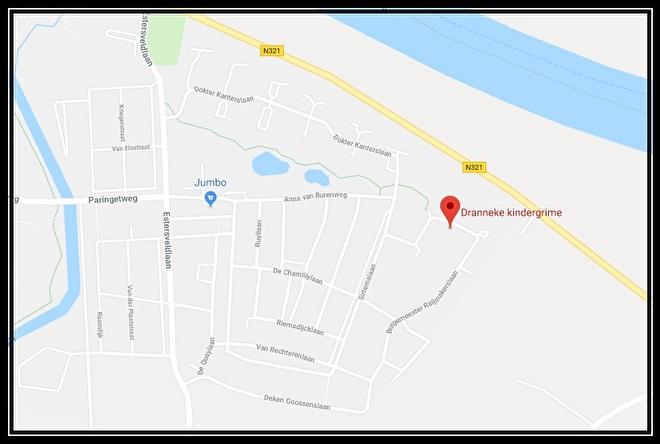 Route beschrijving Dranneke Kindergrime