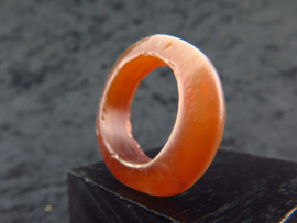 Ancient Egyptian carnelian ring