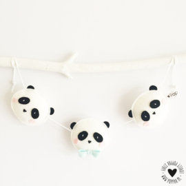 decoratieslinger panda