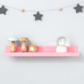 Wandplank Eina Design roze 50 cm