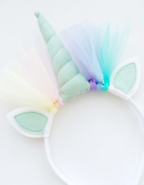 Unicorn diadeem mint-mint