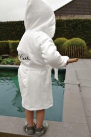 Badjas met kap personaliseerbaar