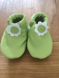 Menu Baby Shoes - Lime met bloem