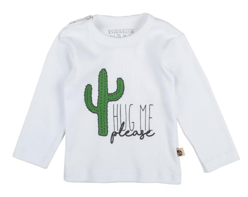 "T-shirt ""Hug me please"""