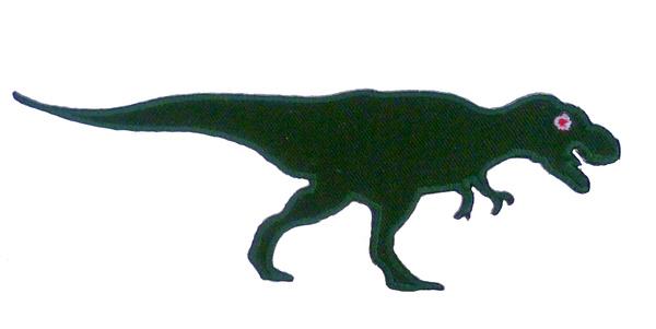 Strijkapplicatie T-Rex