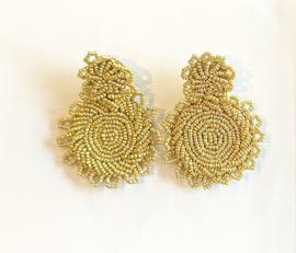 Stijlvolle goudkleurige oorbellen