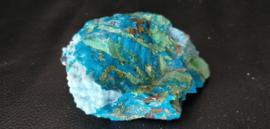Kristallijne Chrysocolla  Gemsilica