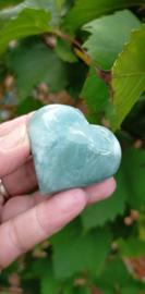 Aquamarijn hart