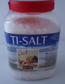 Tisalt Dode Zee zout met 62 mineralen uit Jordanië.