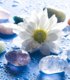 Bergkristal & amethist water