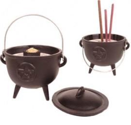 Cauldron (heksenketel) pentagram