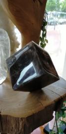 Zwarte Maansteen  kubus