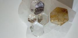 Garden Crystal (speciale Lodoliet) / Rutiel Hexagonaal