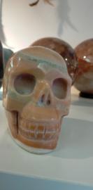 Aragoniet oranje schedel