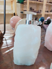 Bergkristal zeepdispender
