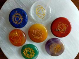 Chakra Kristal Set