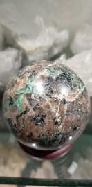 Chalcocite, Chrysocolla en Veldspaat Bol