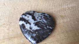 Zebra agaat hart