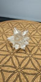 Bergkristal Merkaba Dubbele ster