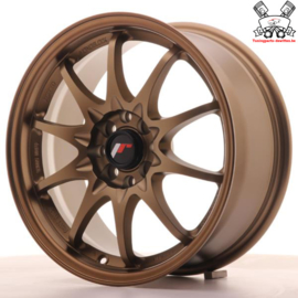 JR-Wheels JR5 Dark Anodize Bronze 16 Inch 7J ET30 4x100/108