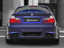 "Rear Bumper BMW E46 ""COSMIC"" iBherdesign"