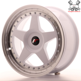 JR-Wheels JR6 White 17 Inch 8J ET20-35 Blank